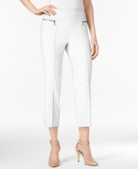 Style And Co Petite Pull On Cropped Pants Only At Macy's Bright White