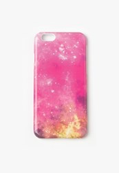Missguided Pink Galaxy Iphone 6 Case