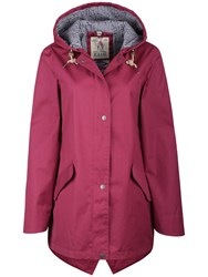 Seasalt Rain Collection Bowsprit Waterproof Coat Wine