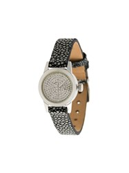 Christian Koban Cute Diamond Watch Stainless Steel Diamond Stingray Grey