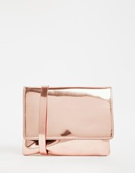 Monki Cross Body Bag Rose Gold Copper