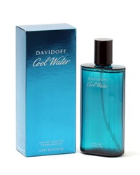 Davidoff Cool Water For Edt Cologne Spray 4.2 Oz. 125 Ml