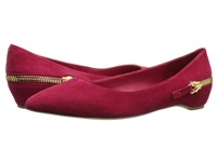 Ivanka Trump Cherry Paradise Red Women's Dress Flat Shoes Mahogany