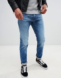 G Star 3301 Slim Jeans Light Aged Lt Aged Blue