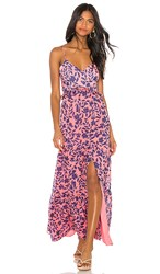 House Of Harlow 1960 X Revolve Eliana Dress In Pink. Pink Floral