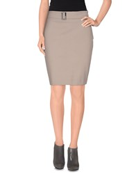 Pamela Henson Skirts Knee Length Skirts Women Black