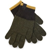 Universal Works Knitted Gloves Olive Brown