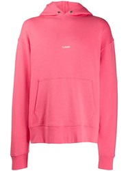 Zadig And Voltaire Sanchi Photoprint Lover Hoodie Pink