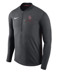 Nike Oklahoma Sooners Coaches Quarter Zip Pullover Anthracite