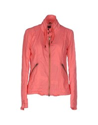 Bomboogie Coats And Jackets Jackets Women Salmon Pink