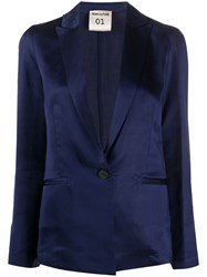 Semicouture Single Breasted Fitted Blazer 60