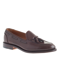 J.Crew Ludlow Tassel Loafers Cigar Brown