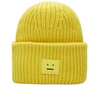 Acne Studios Pansy Wool Beanie Yellow