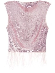 Rachel Gilbert Max Sleeveless Sequin Embellished Top 60