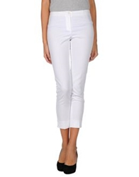 Ql2 Quelledue Casual Pants White