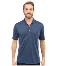 Adidas Performance Polo Mineral Blue Men's Clothing