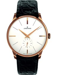 Longines 027 5202.00 Meister Pvd Gold Plated And Leather Watch