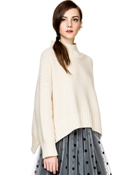 Pixie Market Francesca Oversize Turtleneck Sweater