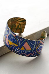 Anthropologie New Beginnings Painted Cuff Assorted