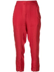Ann Demeulemeester Cropped Trousers 60