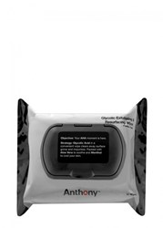 Anthony Logistics For Men Glycolic Exfoliating And Resurfacing Wipes