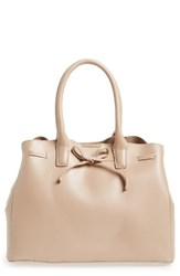 Sole Society Layton Faux Leather Satchel Pink Blush
