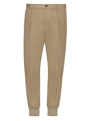 Issey Miyake Stitched Detail Slim Leg Trousers
