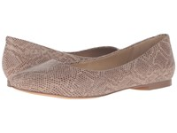 Trotters Estee Nude Snake Embossed Women's Slip On Dress Shoes Brown
