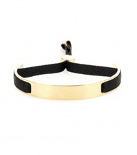 Marc By Marc Jacobs Small Ribbon Friendship Bracelet Gold