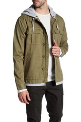 Tavik Droogs Military Style Jacket Green