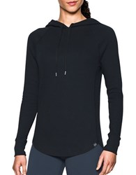 Under Armour Relaxed Fit Raglan Sleeve Hoodie Black
