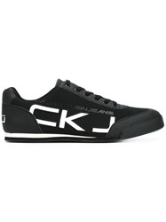 Calvin Klein Jeans Ckj Trainers Men Cotton Synthetic Resin Rubber 43 Black