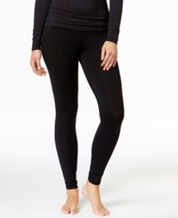 Cuddl Duds Softwear Stretch Leggings Black