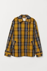 Handm H M Double Breasted Jacket Yellow