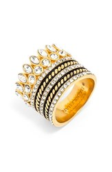 Women's Baublebar 'Charlotte' Ring Stack