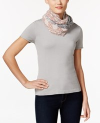 Inc International Concepts Patchwork Loop Scarf Only At Macy's Neutral