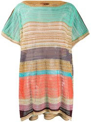 Missoni Mare Striped Loose Fit Top 60