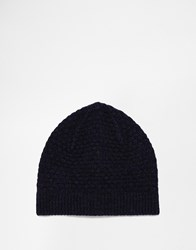 Selected Beanie Blue