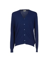 J For James Knitwear Cardigans Men Dark Blue