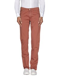 Gf Ferre' Jeans Trousers Casual Trousers Men Pastel Pink