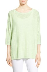 Women's Eileen Fisher Organic Linen And Cotton Tunic