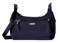 Baggallini New Classic Out And About Bagg With Rfid Phone Wristlet Navy Bags