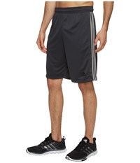 Adidas Designed 2 Move 3 Stripes Shorts Dark Grey Medium Grey Heather Solid Grey Men's Shorts Gray