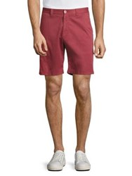 Vilebrequin Chrysanthe Basic Twill Shorts Red Beige