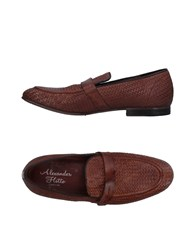 Alexander Hotto Loafers Cocoa