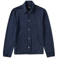 Save Khaki Fleece Warm Up Jacket Blue