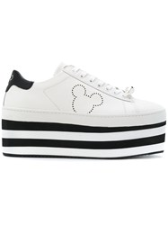 Moa Master Of Arts Mickey Mouse Design Sneakers White
