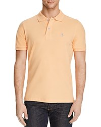 Tailorbyrd Pique Short Sleeve Classic Fit Polo Compare At 69.50 Peach