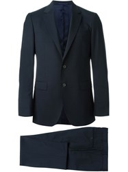 Lanvin Classic Two Piece Suit Blue