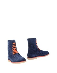 Passion Blanche Ankle Boots Dark Blue